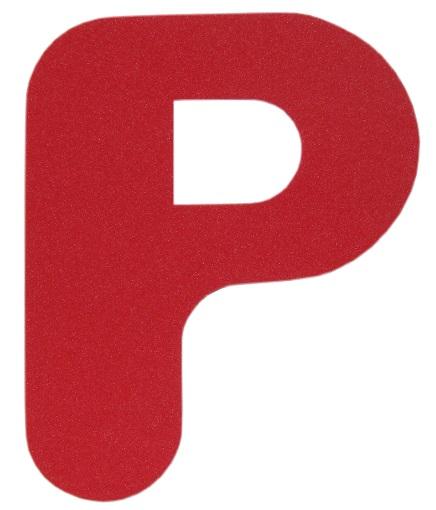 Moldes de letras mayúsculas para imprimir y recortar